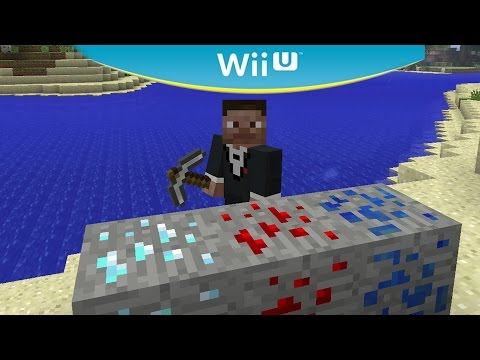Minecraft Wii U Edition Survival - Search For Gold Blocks