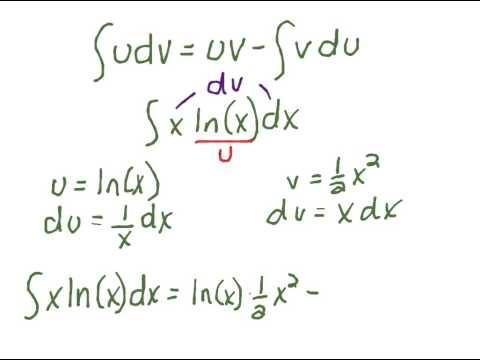 Integrating xln(x)