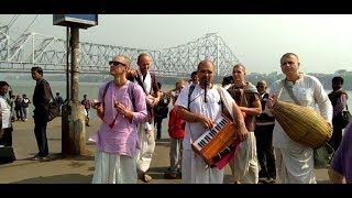 Amazing HAWRA BRIDGE Kolkata West Bengal ◆भजन हरे रामा हरे कृष्णा बाबू घाट से.by truism,हावड़ा ब्रिज