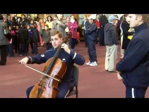 U.S. Air Force Band flash mob