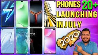 Top 20 Best Upcoming Smartphones To Launch In JULY 2020   POCO M2 Pro, iQOO Z1X, Redmi K40 Pro