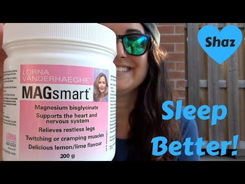 MAGNESIUM SUPPLEMENTS | Improve your sleep, stress and anxiety!