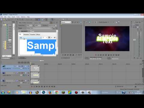 AcidPulse: How To Make An Intro In Sony Vegas Pro.11 (Easy!)