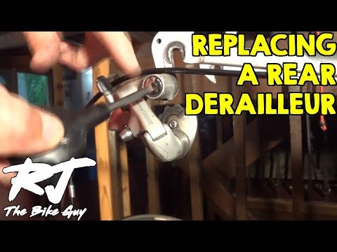 How To Replace/Upgrade Rear Derailleur On A Bike