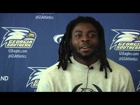 Happy Thanksgiving from the Georgia Southern Football Team