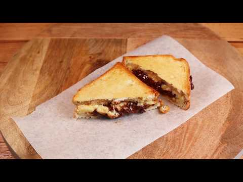 3 French Grilled Sandwiches you need to try: Provencal - Banana chocolate - Goat cheese & honey