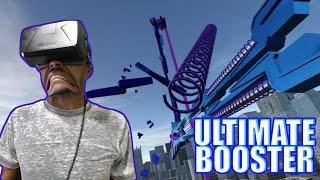 I ALMOST VOMITED   Ultimate Booster Experience REACTION   Oculus Rift DK2