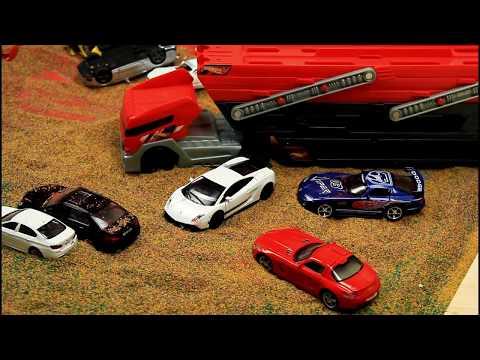 Toy Cars Super Slide. Video for Kids.