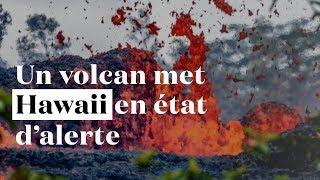 Explosion dans le cratère du volcan Kilauea : Hawaii en état d
