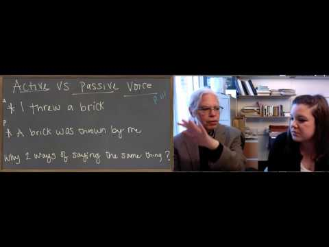 Learn Ancient Greek: 22_Unit 5 Passive Voice