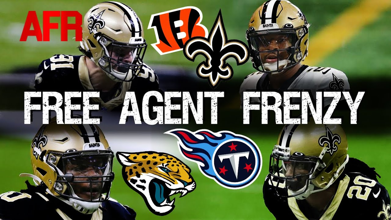 What are Saints biggest holes heading into free agency?