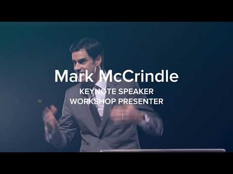 Mark McCrindle   professional presenter showreel