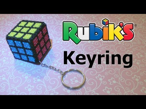 How To Make A Rubik's Cube Keyring