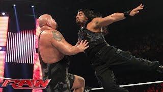 Roman Reigns Vs. Big Show: Raw, January 5, 2015