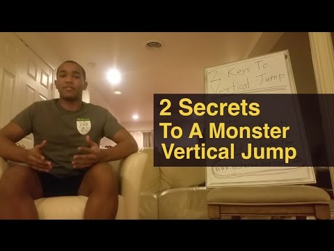 2 SECRET Methods On How To Increase Vertical Jump VERY FAST...