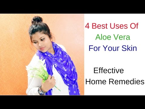 Best 4 Uses Of Aloe Vera For All Skin Types (Dry, Sensitive, Oily & Normal Skin )