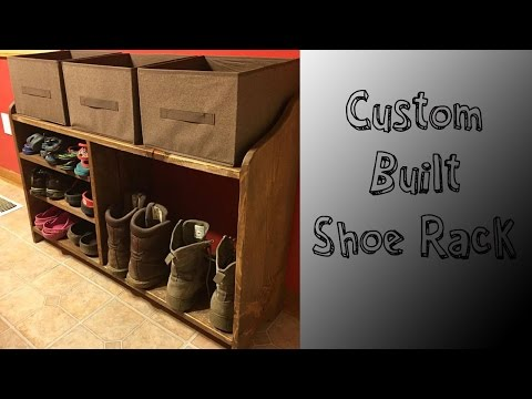 Build A Shoe Rack!