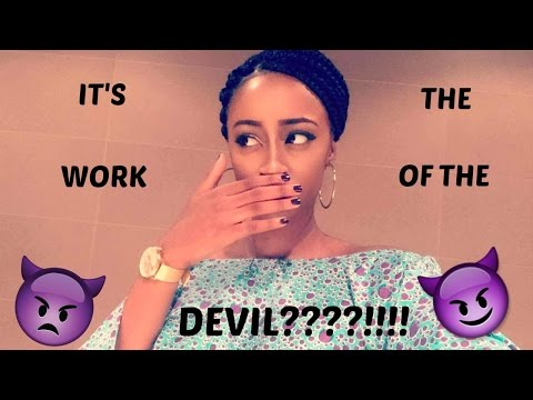 IT'S THE WORK OF THE DEVIL??
