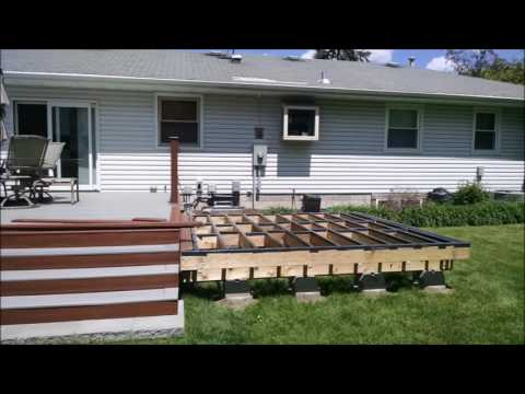 Deck and Hot Tub Project