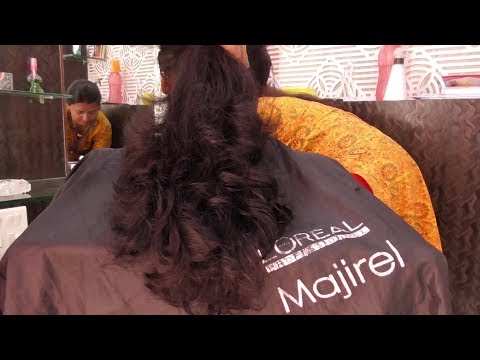 step with layer hair cut