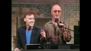 """Bruce Hornsby, """"The Way It Is,"""" on Late Night, September 11, 1990"""