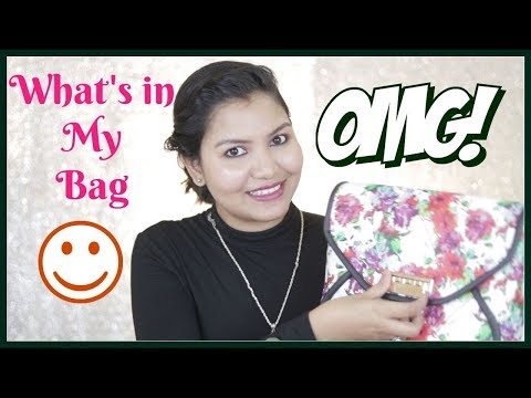 Whats In My Bag ?? /INDIANGIRLCHANNEL TRISHA
