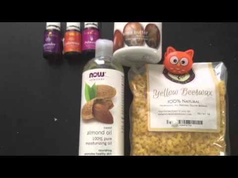 DIY Hand Cream with Essential Oils