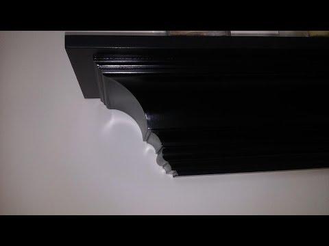 #44-Crown molding cut -shelf/ ciecie na stojaco listwy koronowej-Półka