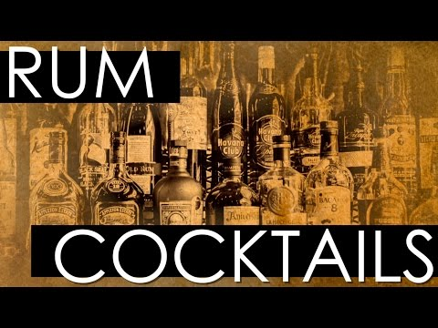 Rum Cocktails VOL I