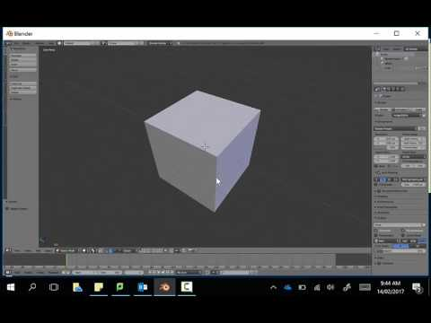 Moving around a shape in Blender