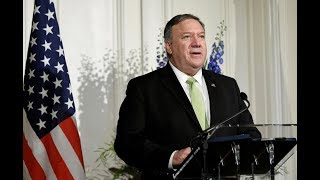 WATCH: Pompeo says Trump doesn't want war with Iran, calls troop deployment a deterrent