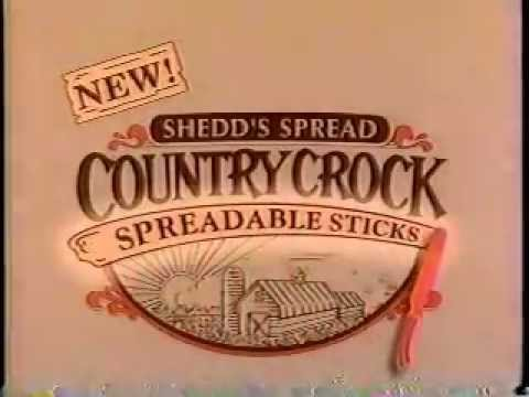 Shedd's Spread Country Crock Margarine ad from 1993