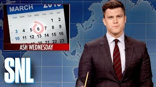 Download Weekend Update: Ash Wednesday - SNL Video