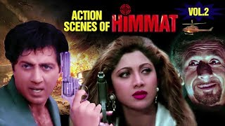 Himmat | Action Scene Part-2 | همت | Sunny Deol, Tabu | With Arabic Subtitles (HD)