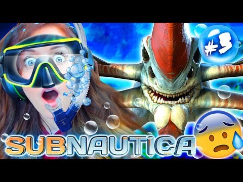 MY FIRST LEVIATHAN! 😱 (Subnautica #3!🧜‍♀️)