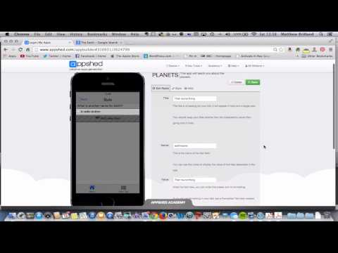 Appshed Quiz Part 4 - Using Forms for Questions