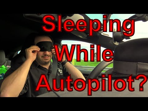 Tesla Model S driver caught sleeping at the wheel while on Autopilot-- Is it a Big Deal? How easy?