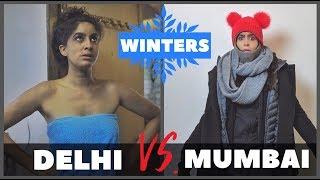 Mumbai VS. Delhi in Winters ❄️| Rickshawali