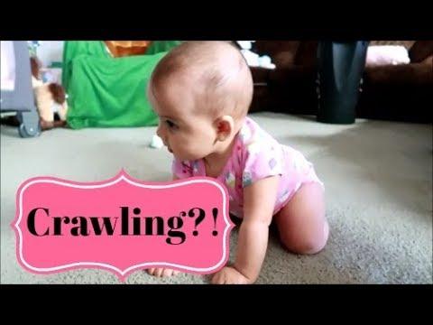 So close to crawling!! ~ vlog ~ June 9, 2018