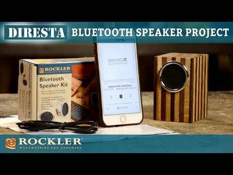 DiResta | Bluetooth Speaker Box Project