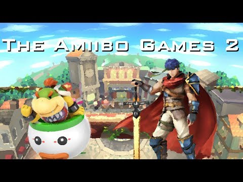 The Amiibo Games 2 - Round 2 Set 4   Peach Fuzz (Bowser Jr.) vs. Ike Cream (Ike)