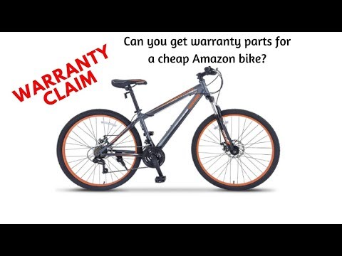 Orkan Warranty - Can you get parts for an Amazon bike?