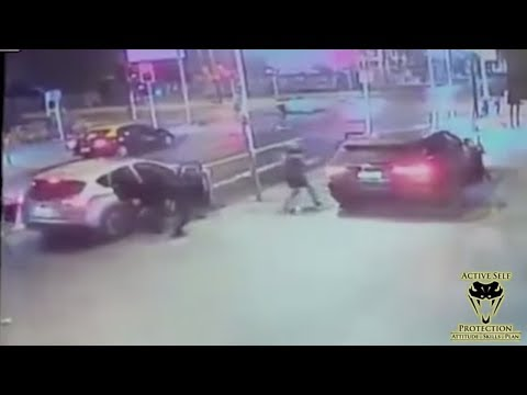 Prepared Defender Owns Carjackers | Active Self Protection