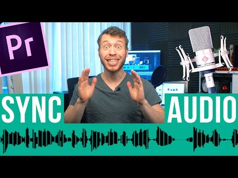 How To Sync Audio In Premiere Pro - Premiere Pro Tutorial