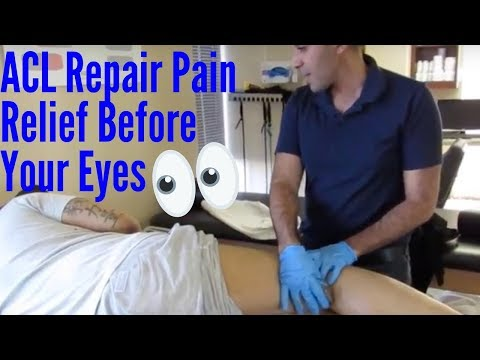 ACL Reconstruction with Meniscus Repair Pain Relief