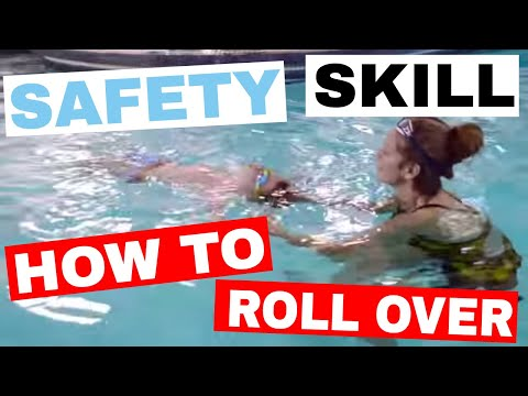 Help Your Child Learn to Roll Over & Back Float - Children Overcome Fear of Water - Tessa Rhodes