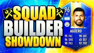 EPIC TOTS AGUERO SQUAD BUILDER SHOWDOWN! FIFA 19 ULTIMATE TEAM