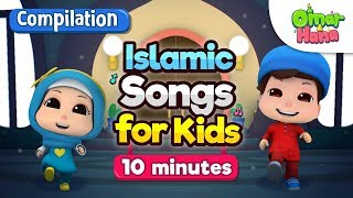 Islamic Cartoons for Kids | Compilation | Loving Orphans and more | Omar & Hana