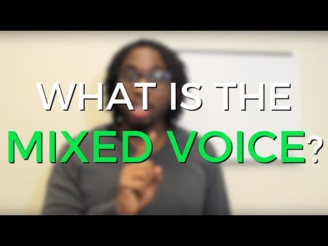 What is the Mixed Voice? (Chest & Head Voice Coordination)