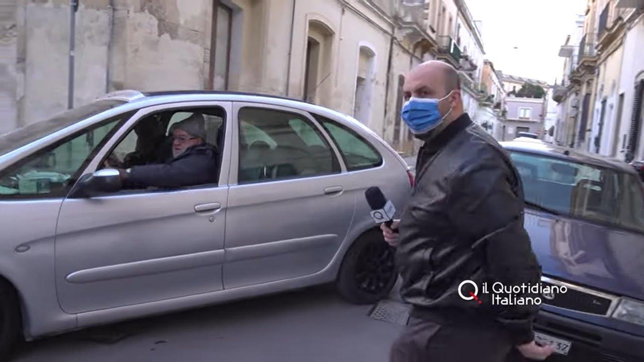 """Lecce, Andrea l'abusivo: """"Me ne frego delle multe nel mio taxi Prefetto e Capo della Polizia"""""""